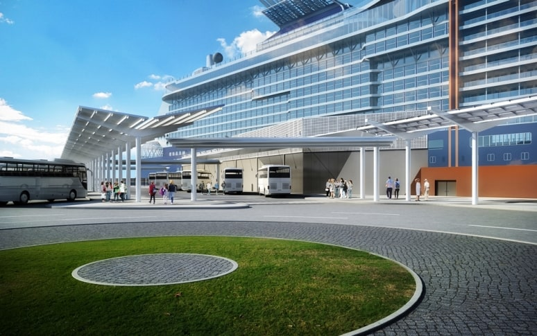 Celebrity Cruises, New Terminal Cruise 2