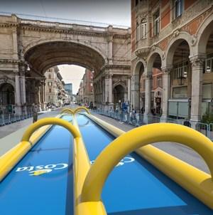 Costa Zena Festival: il 7 luglio a Genova i festeggiamenti per i 70 anni di Costa Crociere. Tra le attrazioni, lo scivolo gonfiabile ad acqua più lungo mai costruito