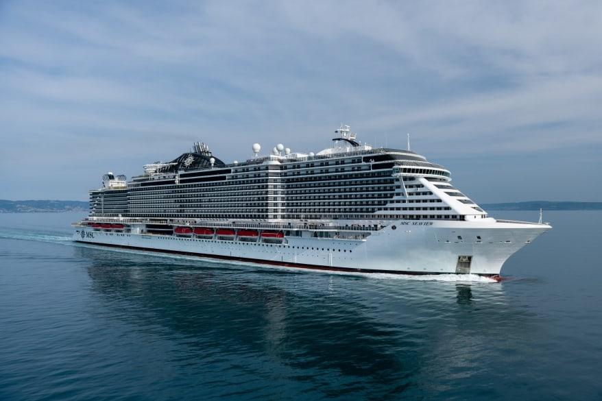 MSC Crociere: consegnata a Monfalcone MSC Seaview. La nuova ammiraglia diretta a Genova per il battesimo