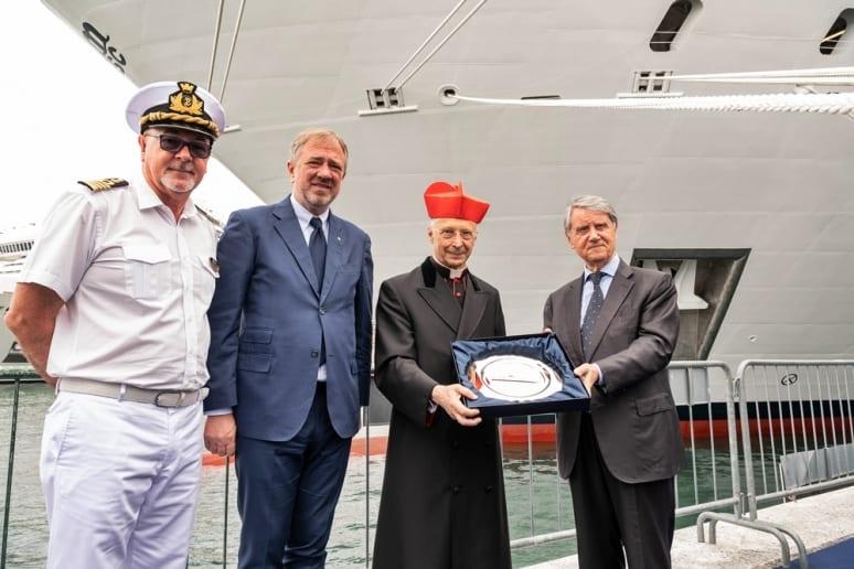 MSC Seaview ship blessing 1
