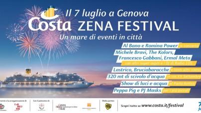 7 luglio 2018, a Genova il Costa Zena Festival per i 70 anni di Costa Crociere