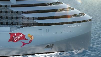 Scarlet Lady, svelato il nome e nuovi particolari dell'ammiraglia della flotta Virgin Voyages