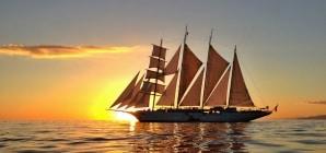 Crociere in veliero: a bordo del 4 alberi Star Clipper alla scoperta delle isole dell'arcipelago indonesiano