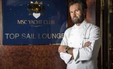 Carlo Cracco torna a bordo delle navi MSC Crociere. I suoi menu anche durante il primo giro del mondo