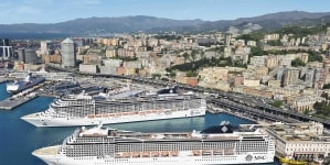 MSC Crociere da record a Genova: 8 navi e 41mila passeggeri in città nel weekend di Ognissanti, 1,1 milioni complessivi nel 2019
