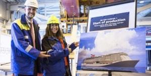 Carnival Cruise Line: in Finlandia al via la costruzione della nuova maxi nave a GNL. Sarà la prima ad indossare la nuova livrea del brand