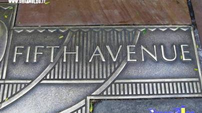 La mia escursione. New York. Passeggiando per la Fifth Avenue.