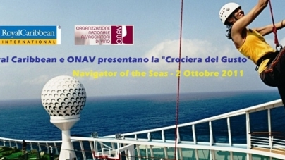 "Royal Caribbean e ONAV presentano la prima ""Crociera del Gusto""."
