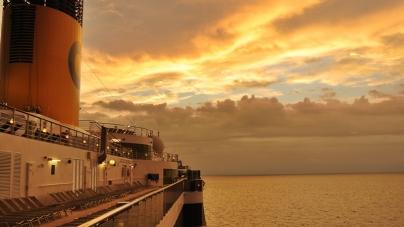 In diretta da Costa Atlantica: Freeport, Bahamas.