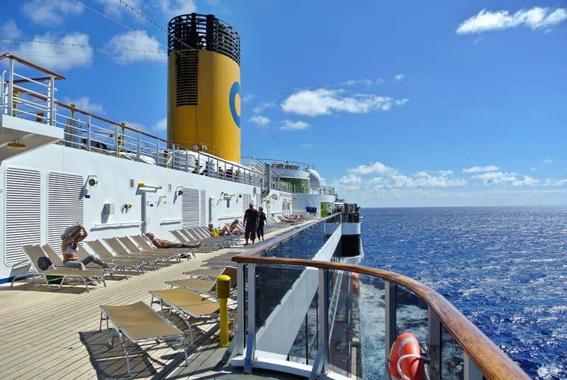 Costa Atlantica in navigazione ai Caraibi