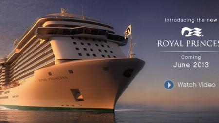 Princess Cruises annuncia la grande stagione inaugurale della nuova Royal Princess