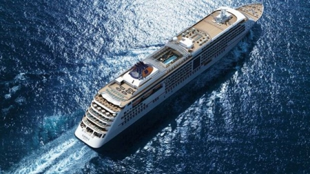 Hapag-Lloyd Cruises: MS Europa 2 lascia il Drydock ed inizia la fase di allestimento degli interni