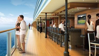 Norwegian Cruise Line presenta le due maggiori novità della Norwegian Breakaway: il Waterfront e il 678 Ocean Place
