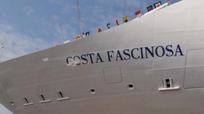 Costa Fascinosa è pronta al debutto: sabato 5 maggio la consegna a Venezia.