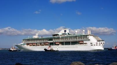 Splendour of the Seas approda a Livorno