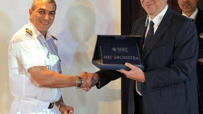 MSC Orchestra conquista Livorno