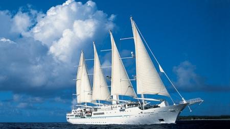 L'esperienza di una crociera in veliero: Windstar Cruises presenta la collezione viaggi 2013.