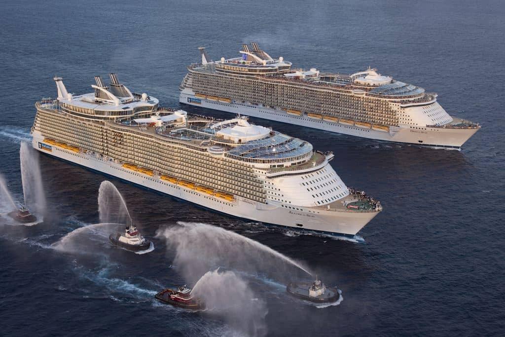 Allure of the Seas e Oasis of the Seas