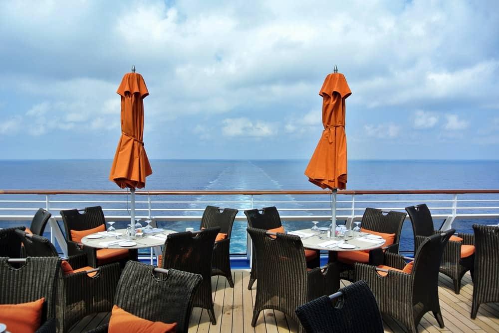 Oceania Riviera, Terrace Cafe