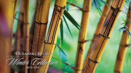 Da Oceania Cruises la nuova collezione crociere Autunno Inverno 2013-2014