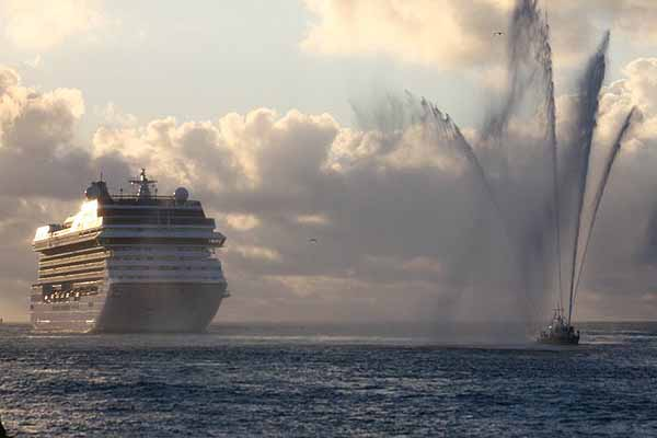 Maiden Call in Miami for Riviera, the new luxury ship of