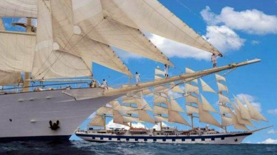 Nuovo look per due velieri Star Clippers
