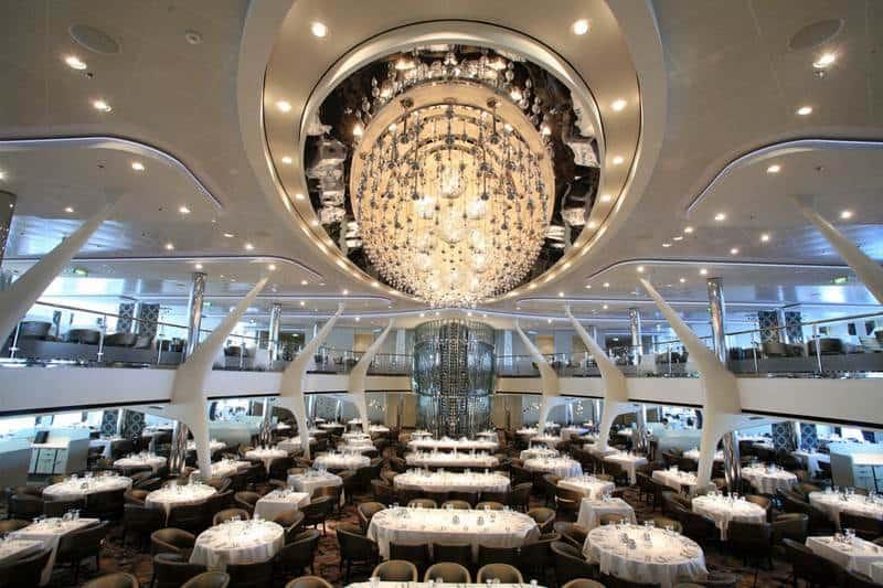 Cruise ship Celebrity Reflection launch photos.