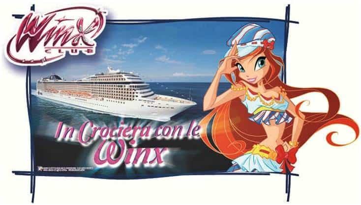 Crociera Winx MSC Crociere