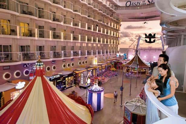 Oasis of the Seas, Royal Caribbean International