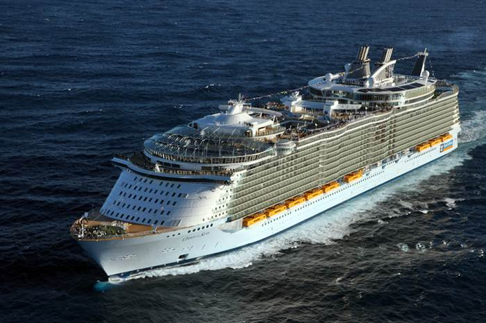 Oasis of the Seas, areal