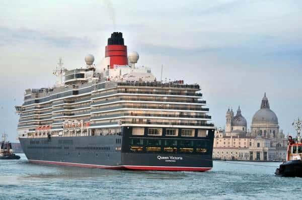 navi a Venezia, Queen Victoria, Cunard