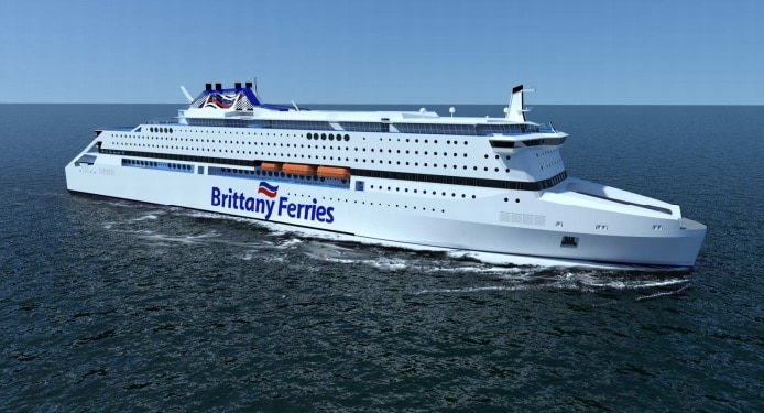 Pegasis, Brittany Ferries