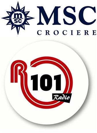 MSC Crociere R101 loghi