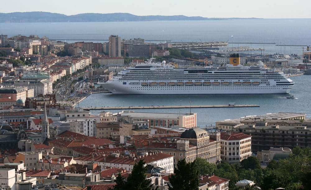 Costa Favolosa, porto di Trieste, Costa Crociere