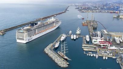 L'aeroporto di Genova nuovo hub per le crociere