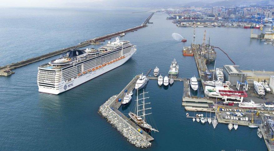 Il gruppo MSC annuncia una grande festa a Genova poco prima di Natale