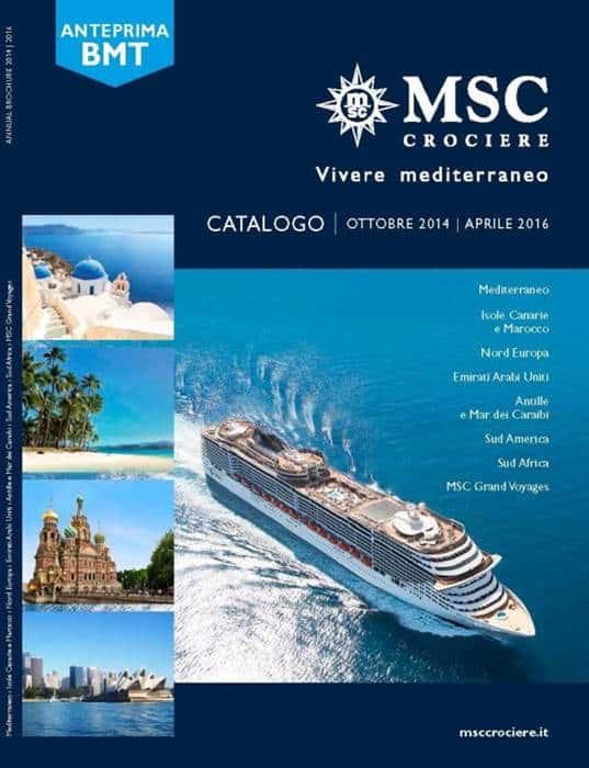 Catalogo MSC Crociere