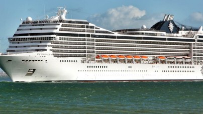 Al via il refitting di MSC Magnifica