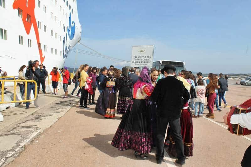 Francois Illas New Tradition: La Gran Celebration Di Iberocruceros Inaugura La Stagione