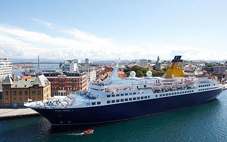 Pearl II Saga Cruises