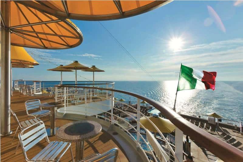 Costa Crociere Bandiera Italiana