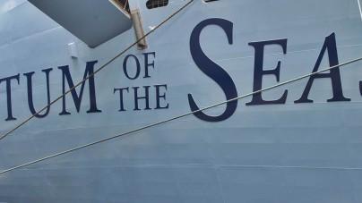 Royal Caribbean: Quantum of the Seas pronta a lasciare la banchina coperta dei cantieri Meyer Werft