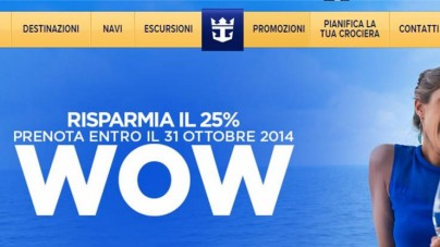 "Royal Caribbean ripropone ""Camera con sconto"""