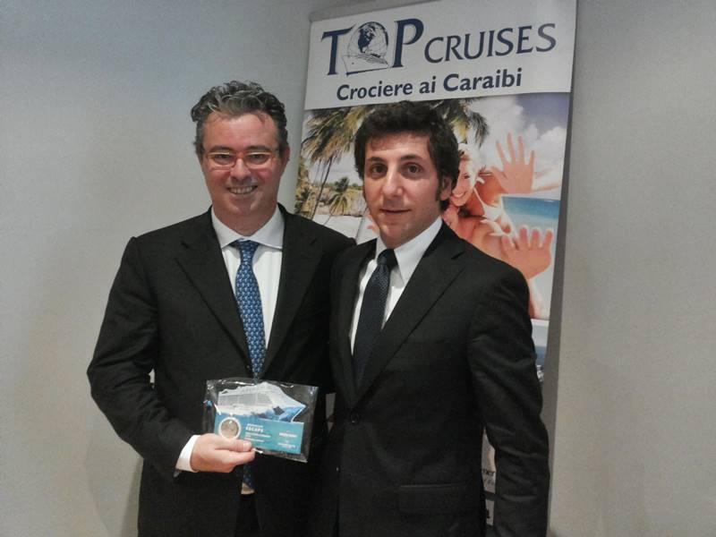 Federico Costa, Top Cruises - Francesco Paradisi, Norwegian Cruise Line
