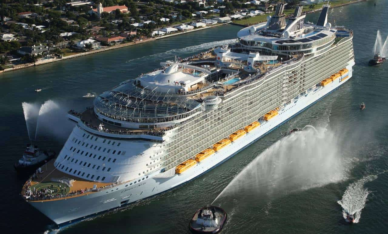 Royal Caribbean International - STX France: work has begun on the