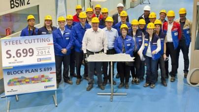 Meyer Werft: al via la costruzione di Ovation of the Seas, terza unità di classe Quantum del colosso americano Royal Caribbean International