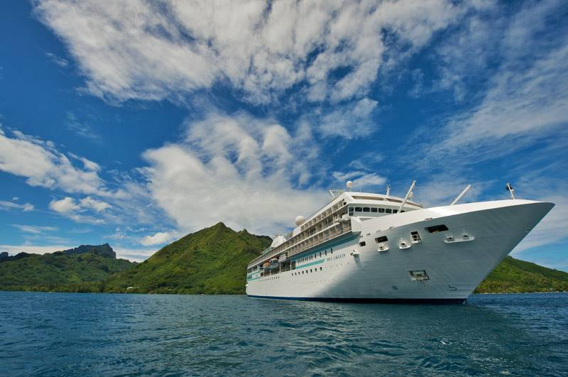 Paul Gauguin Cruises, Bora Bora