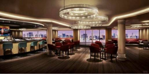 Skyline Bar, Norwegian Escape, Norwegian Cruise Line