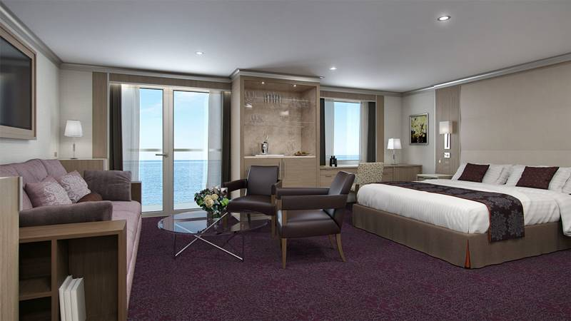 Neptune-Suite-final, ms Koningsdam, Holland America Line