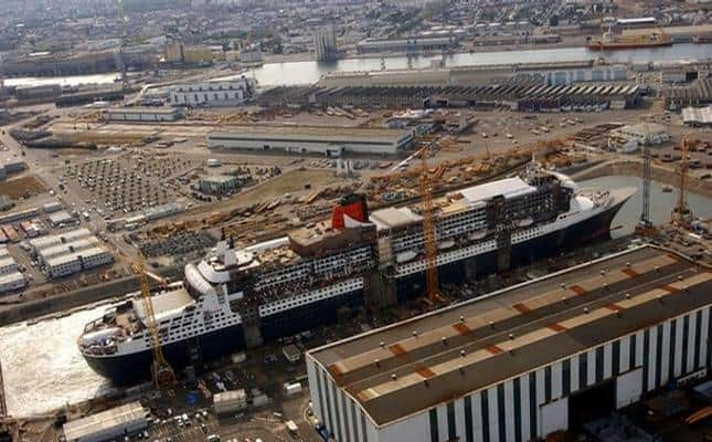 STX France, Cunard